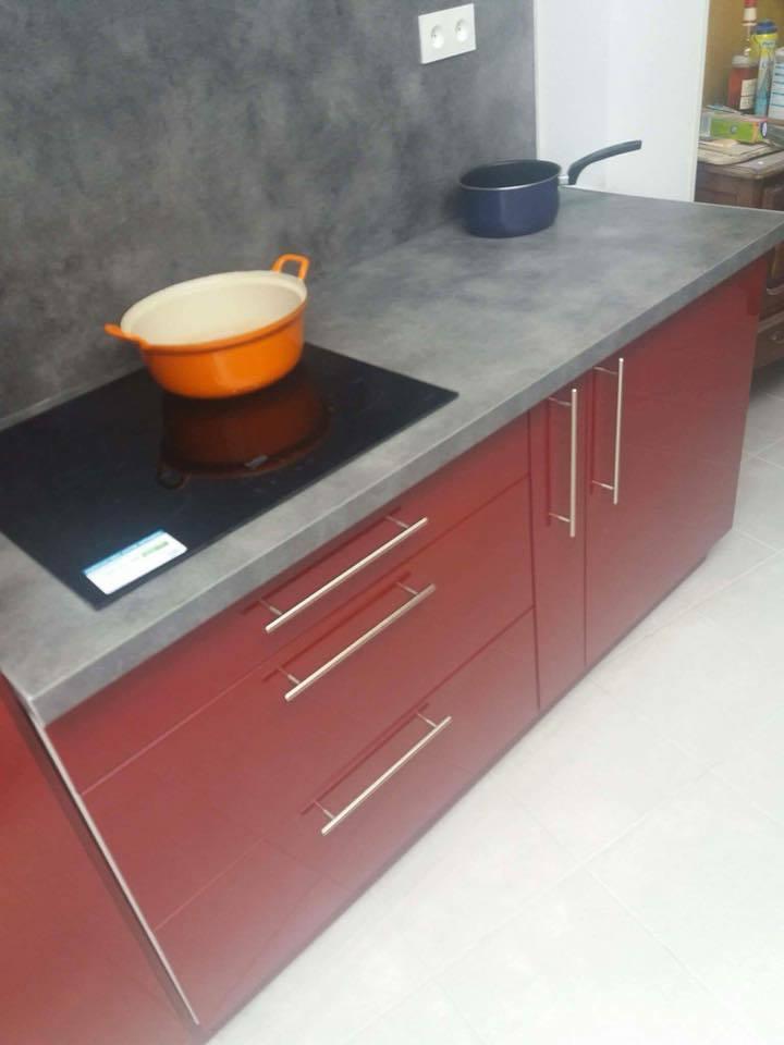 r novation d extension de maison cuisine quip e. Black Bedroom Furniture Sets. Home Design Ideas